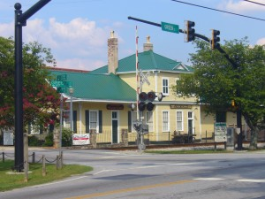 Conyers Historic Train Depot - Welcome Center