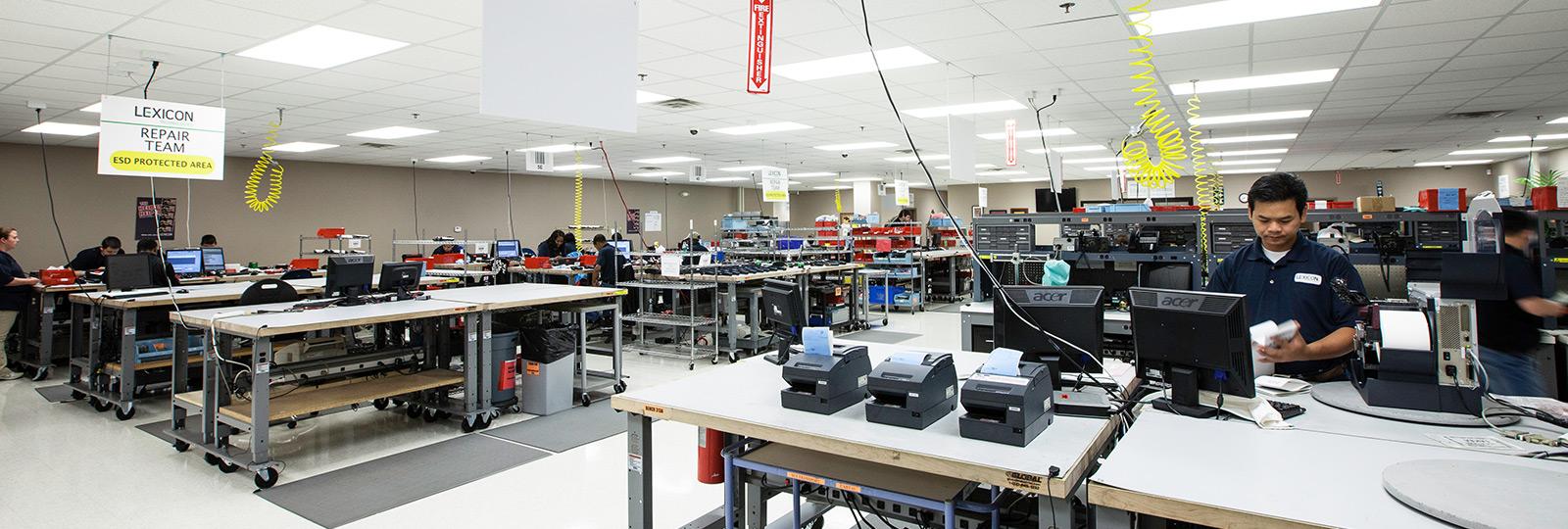 "Lexicon Technologies Opens ""Repair Factory"""
