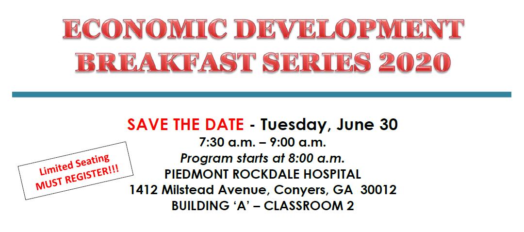 Economic Development Breakfast