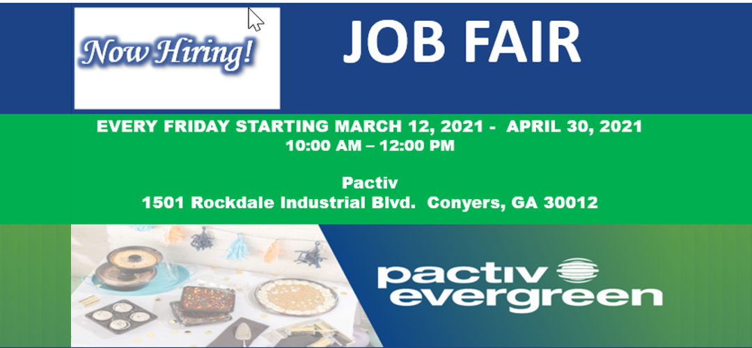 Pactiv Job Fairs